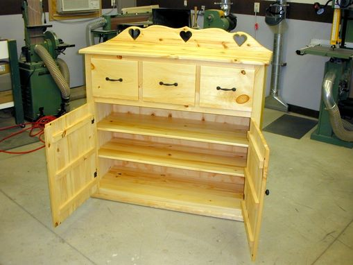 Custom Made Country Style Storage Cabinet