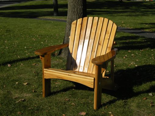 Custom Made The Regal -  Over-Sized Adirondack Chair