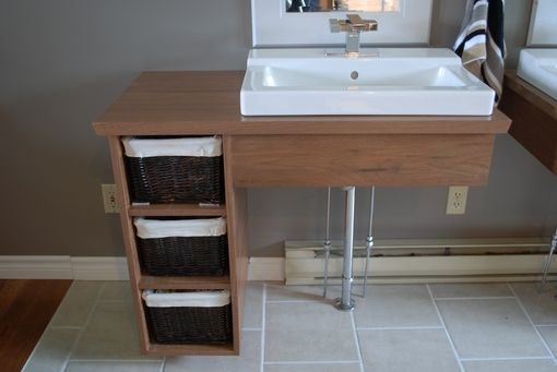 Custom Made Custom Floating Bathroom Vanities