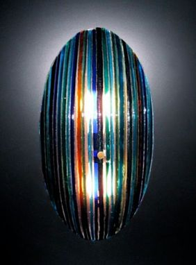 Custom Made Aurora Borealis Wall Sconce