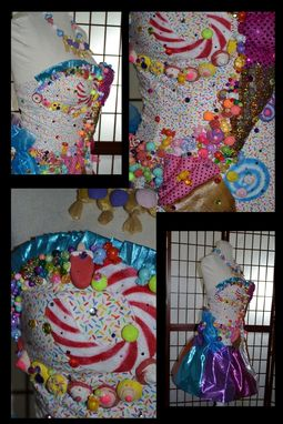 Custom Made Katy Perry California Gurls/Candyland Dress