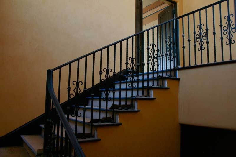 Handmade Wrought Iron Railing by Demejico Inc ...