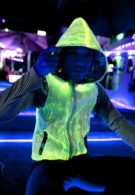 Custom Made Light Up Hoodie