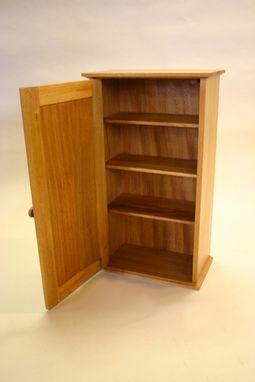 Custom Made Cuban Mahogany Wall Cabinet