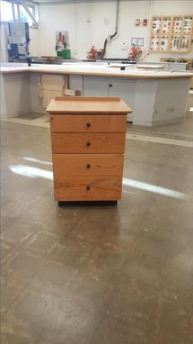 Custom Made Shaker Inspired Four Drawer Nightstand