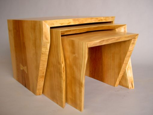 Custom Made Cherry Nesting Tables
