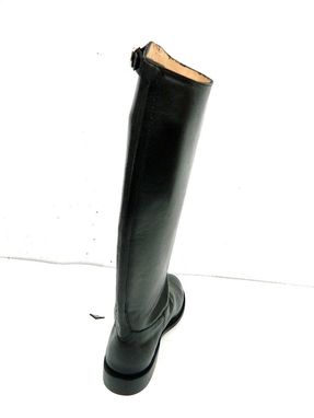 Custom Made Equestrian New Full Grain Leather Boots The Shaft Lining Stiff Leather