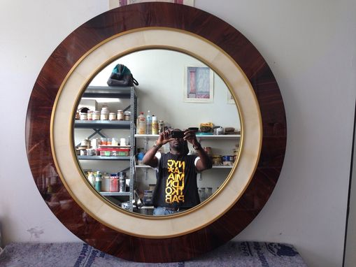 Custom Made Rosewood Mirror