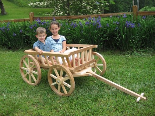 Custom Made Extra Large Flower Girl Pumpkin Wagon- Unfinished