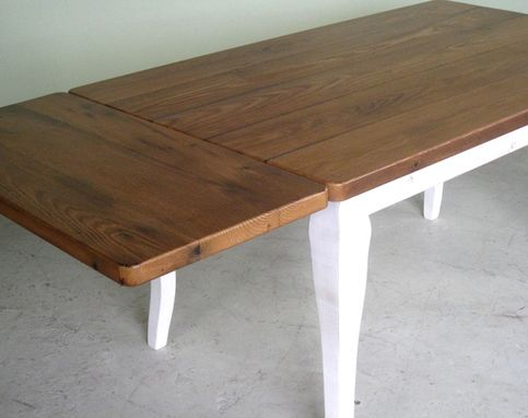Custom Made Chestnut Farm Dining Table