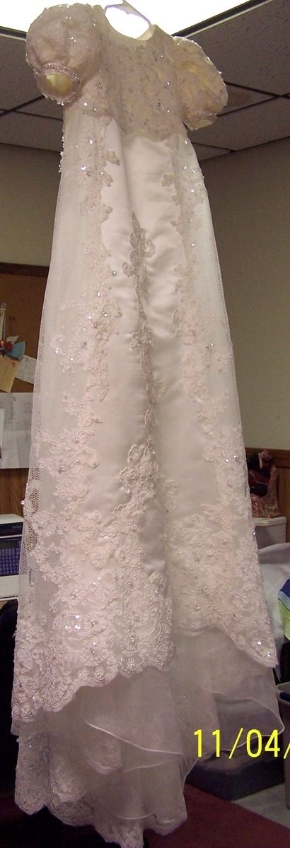 Hand Made Wedding Gown Conversion To Christening Gnown By Heaven