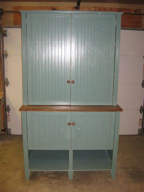 Custom Made Over Sized Step-Back Cupboard