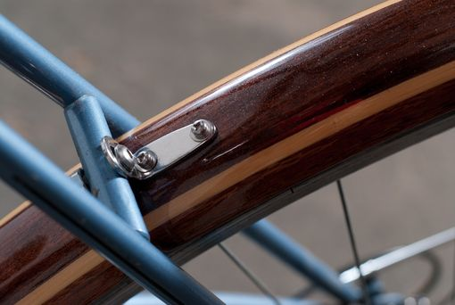 Custom Made Wooden Bike Fenders Custom Fit
