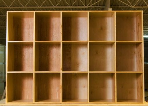 Custom Made Extra Large Cubby Storage Bin Shelves By