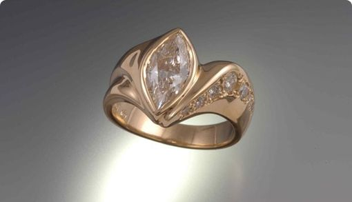 Custom Made Marquis Diamond Ring