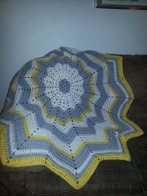 Custom Made Rebecca's 12 Point Afghan