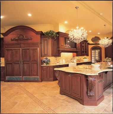 Custom Made Sheer Elegance Custom Kitchen