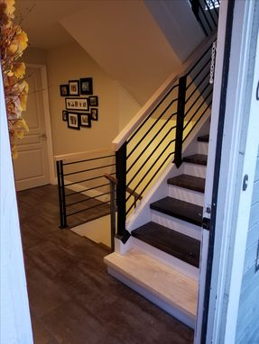 Custom Made Minimalist Industrial Handrail