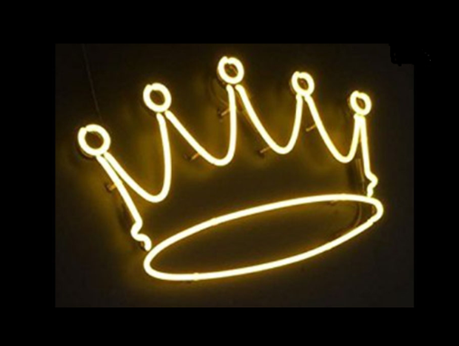 Custom Made Crown Neon Sign