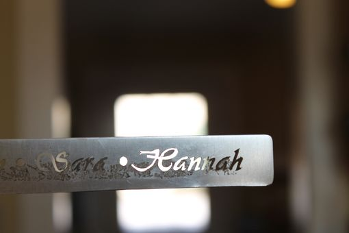 Custom Made Mother's Name/Symbol Cuff