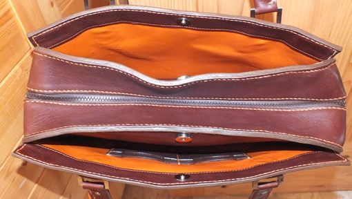 Custom Made Heavy Duty Leather Purse Leather Lined