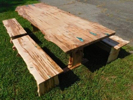 Custom Made Extra-Long Ambrosia Maple Dining Table