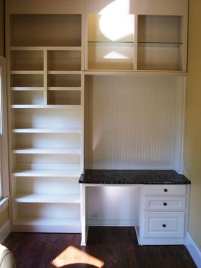 Custom Made Kid's Desk And Closet
