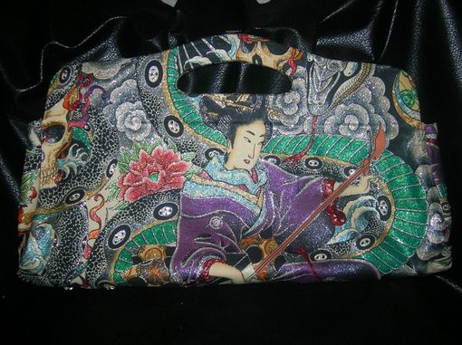 Custom Made Geisha In Purple