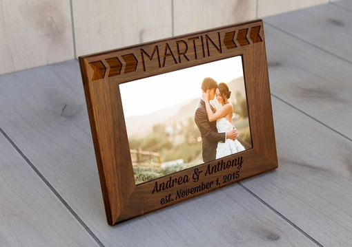 Custom Made Custom Engraved Picture Frames -- Pf-Wal-Martin