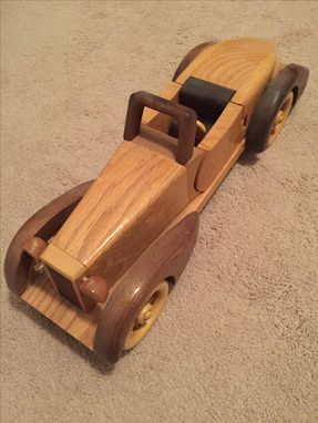 Custom Made Wooden Car Replica