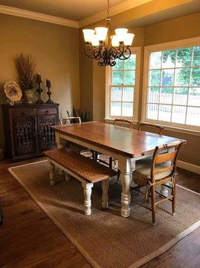 Custom Made Classic Farmhouse Table