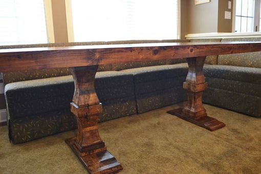 Custom Made 7' Dining Room Table Rustic/Modern.