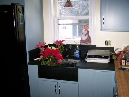 Custom Made Country Kitchen, Built-Ins, Soapstone