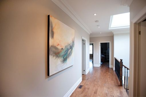 Custom Made Original Abstract And Figurative Paintings For Contemporary  North Torontohome