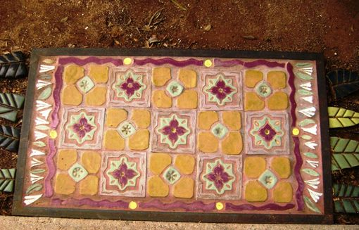 Custom Made Magic Carpet Tile Floor Rug Indoors Or Out, Made To Order
