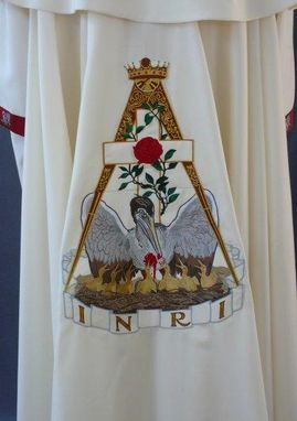 Custom Made Most Wise Master, Order Of The Rose Croix, Uniform And Regalia