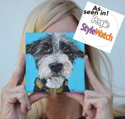 Custom Made Custom Pet Portrait, Custom Portrait, Custom Dog Portrait, Pet Memorial, Pet Lover