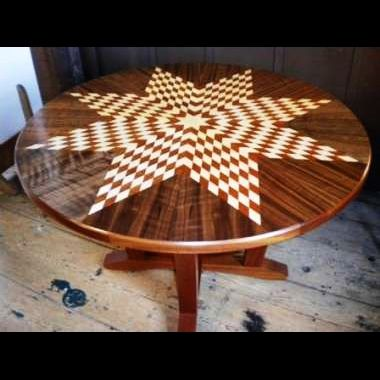 Custom Made Lakota Star Table