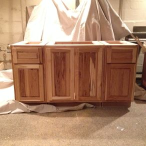 Custom Bathroom Vanities CustomMadecom - All wood bathroom vanities