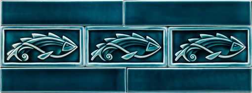 Custom Made Fish Tiles