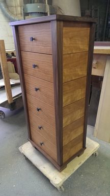 Custom Made Tall Chest By Cherry Canyon Designs