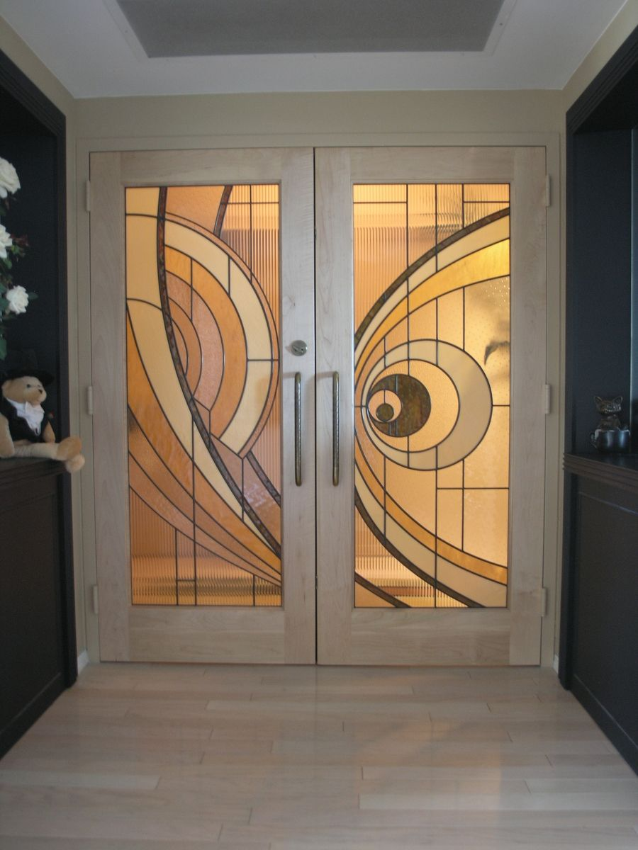 Hand Crafted Custom Made Hard Maple Doors With
