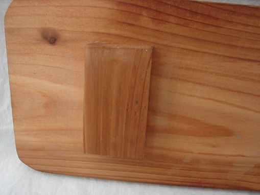 Custom Made Rustic Paddle Serving Board, Long Paddle Cheese Board, Jute Rope Handle