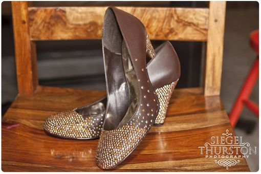 Custom Made Autumn Love Custom Rhinestud Embellished Shoes