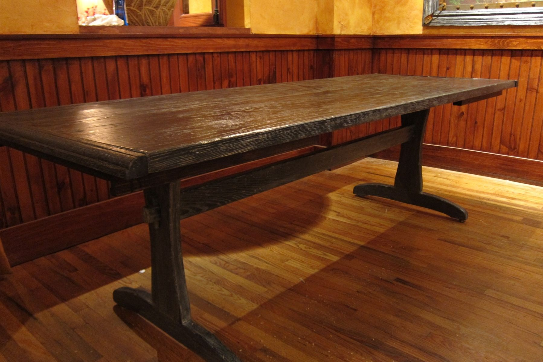 handmade rustic dining table by recollection design custommade com