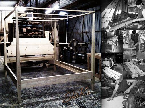 Custom Houston Four Post Canopy Bed By Sh 227 Ka Studios Custommade Com