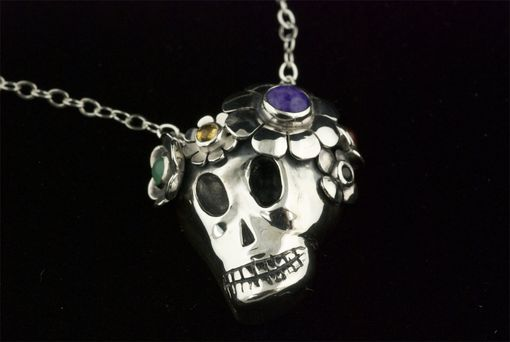 Custom Made Dia De Los Muertos Large Sugar Skull