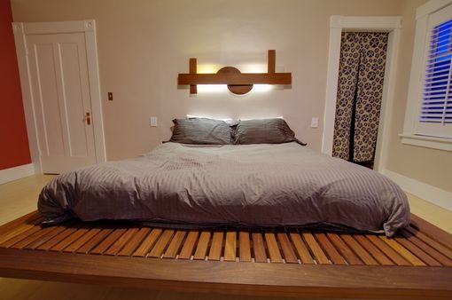 Buy A Hand Crafted Platform Bed Made To Order From