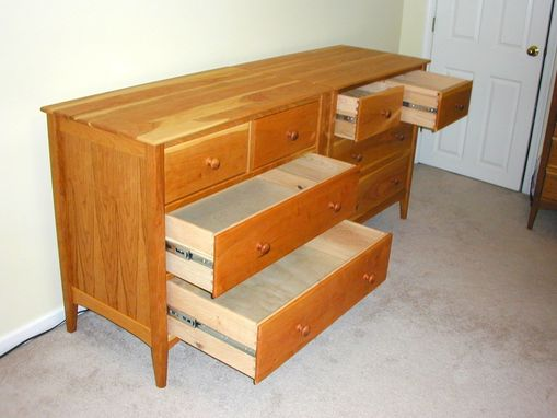 Custom Made Pair Of Cherry Dressers
