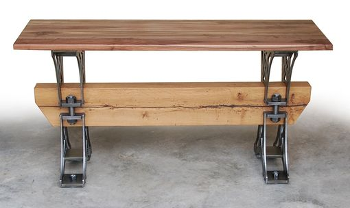 Custom Made The Walnut Truss Console